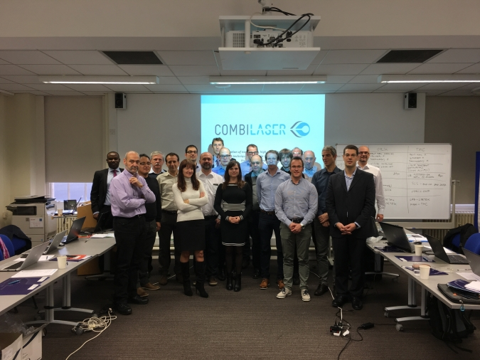 Fifth COMBILASER consortium meeting in Sheffield