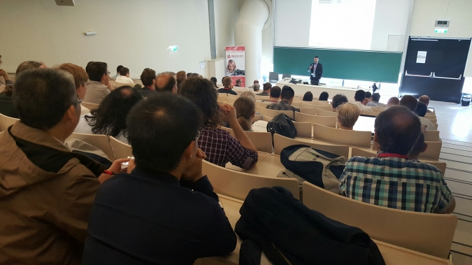 COMBILASER presented at the 5th International Symposium on Laser-Ultrasonics and Advanced Sensing
